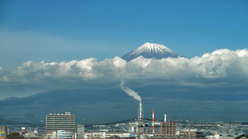 Mapa de Japón: Monte Fuji