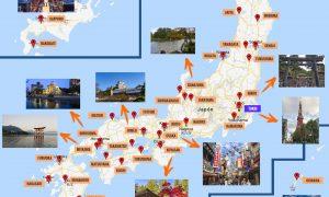 Mapa de Japón: qué ver y ciudades más importantes