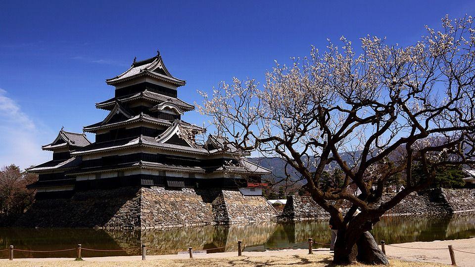 Mapa de Japón: Matsumoto. Fuente: Pixabay