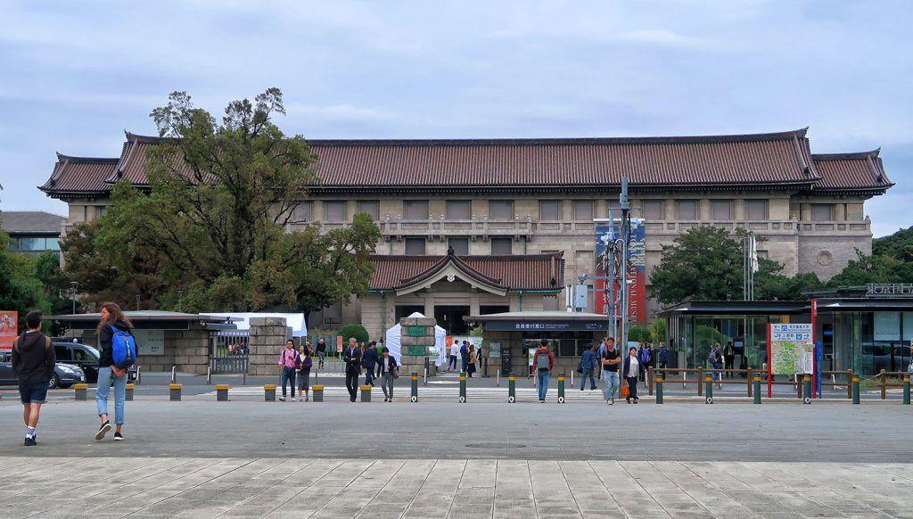 Que ver y hacer en Ueno: Museo Nacional de Tokio