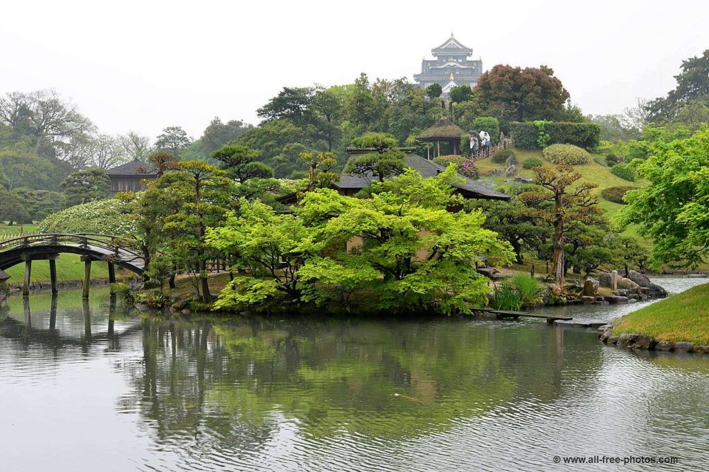 Mapa de Japón: Okayama. Fuente: All Free Photos