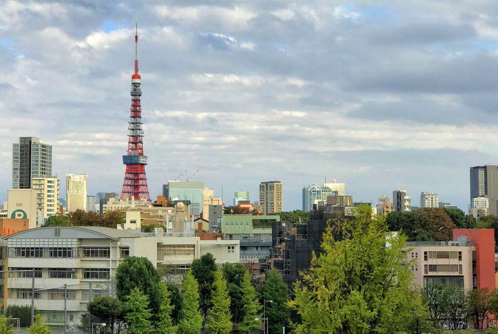 Mapa de Japón: Tokio