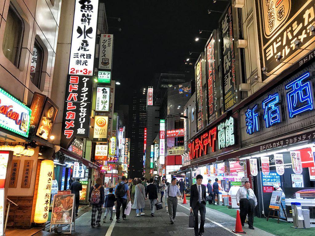 Qué ver en Shinjuku: Kabukicho - imprescindibles en Tokio