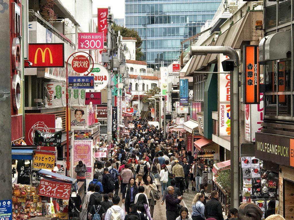 Qué ver y hacer en Harajuku: Takeshita Dori