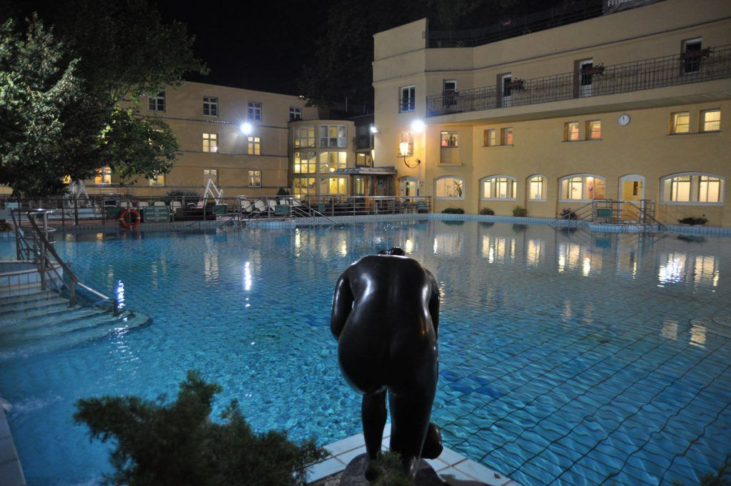 Baños en Budapest: Baños Lukacs