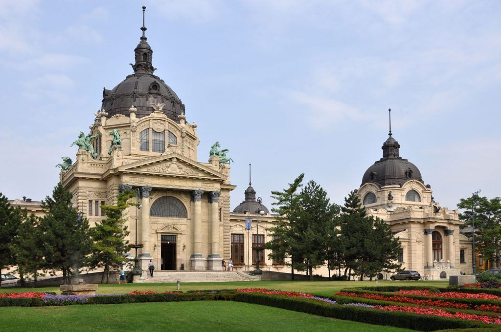 Baños en Budapest: Balneario Szechenyi