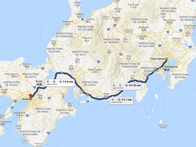 Cómo ir de Tokio a Osaka [OPCIONES + PRECIOS + DURACIÓN]