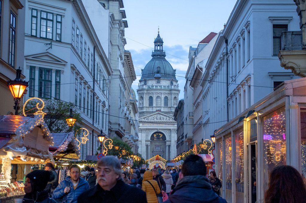 Qué ver en Budapest: Mercado de Adviento