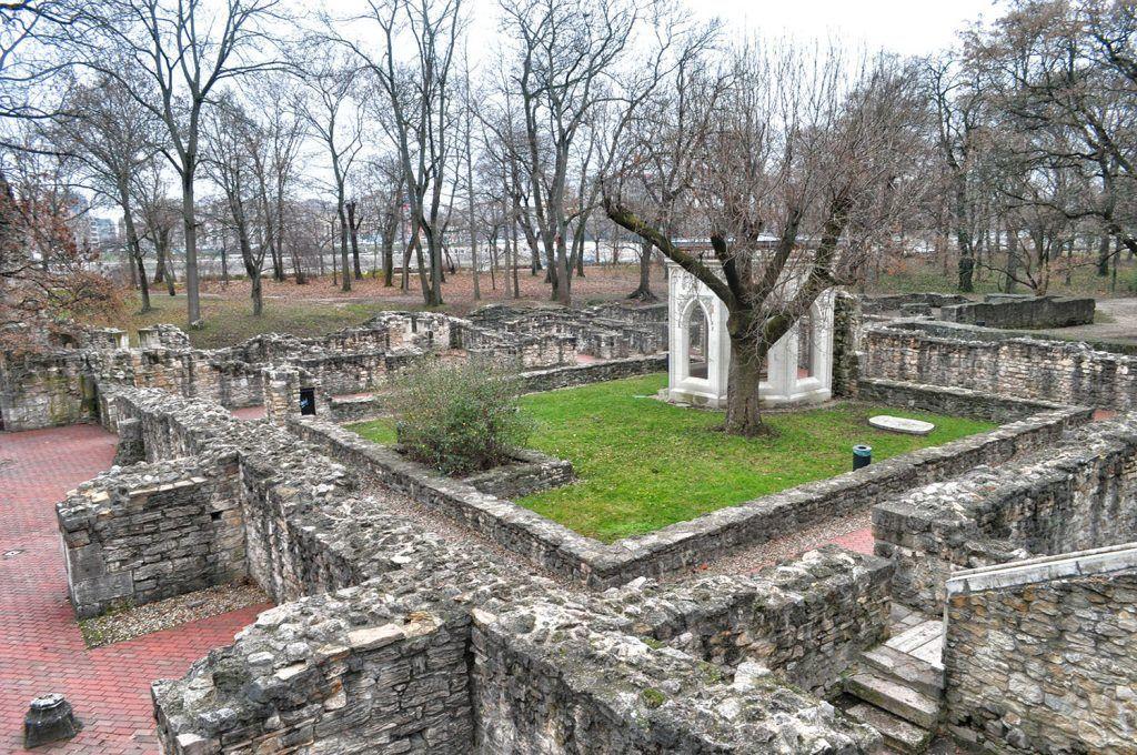 Qué ver en Budapest: Ruinas del Convento en la isla de Margarita