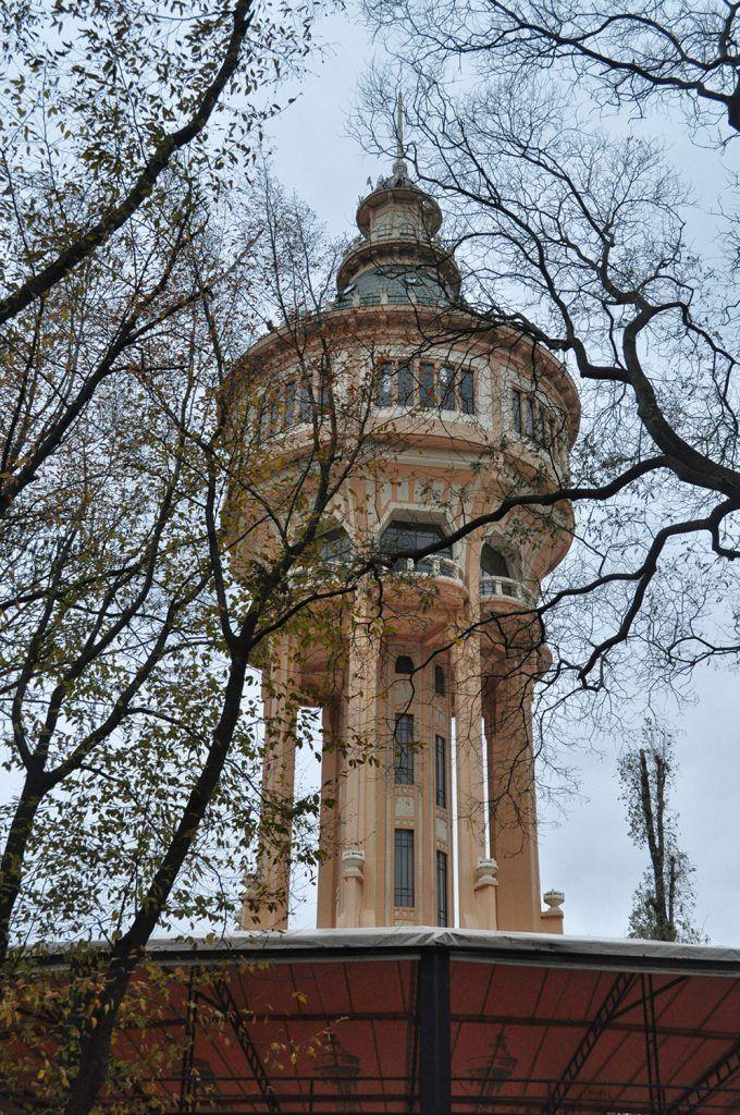 Qué ver en Budapest: Torre del agua en la isla de Margarita