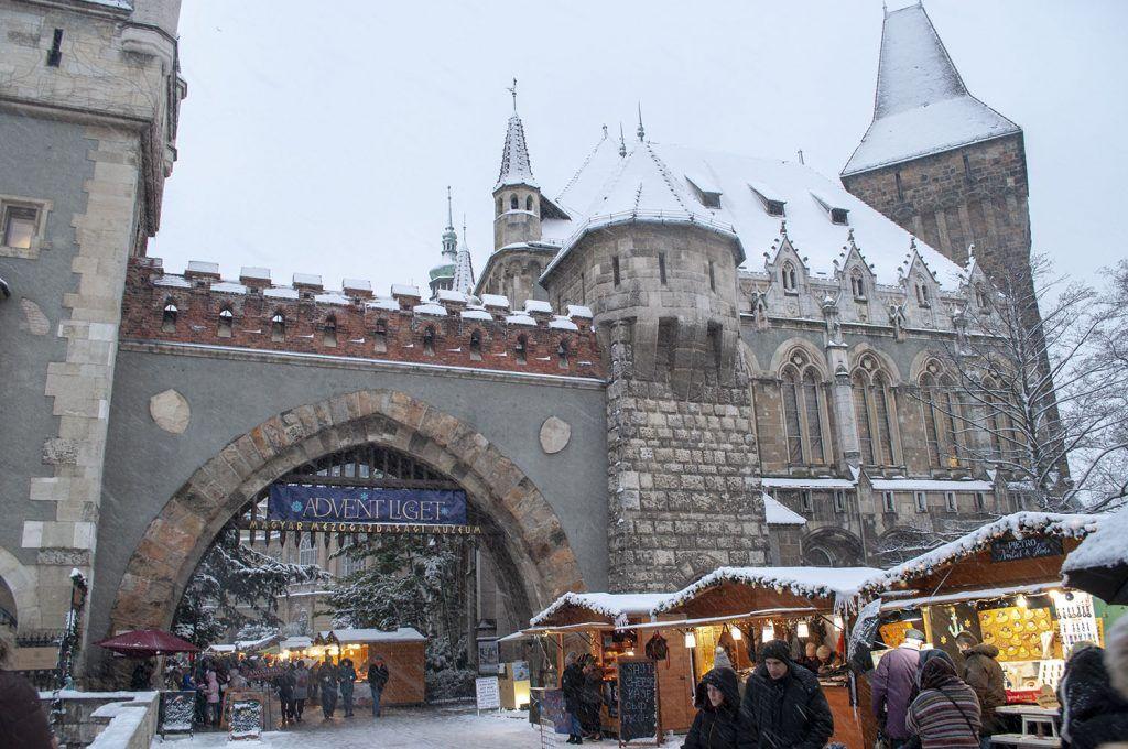 Qué ver en Budapest: Castillo de Vajdahunyad
