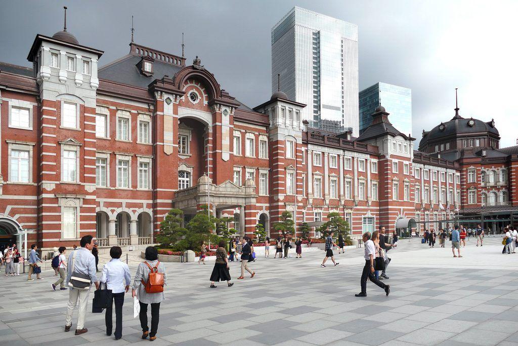 Qué ver y hacer en Chiyoda: Estacion de Tokio