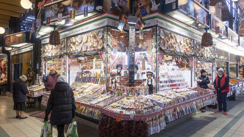 Qué ver en Budapest: Mercado Central