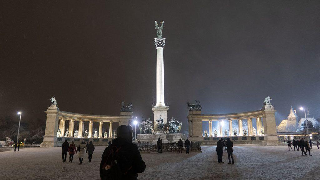 Qué ver en Budapest: Plaza de los Héroes