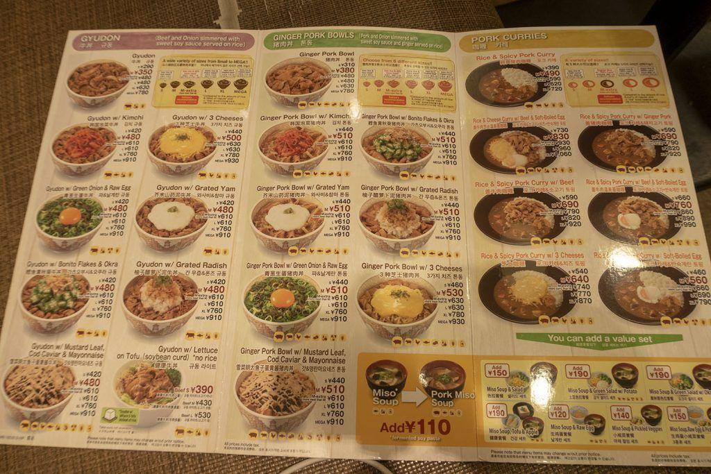 Dónde comer en Tokio: Sukiya Okachimachi