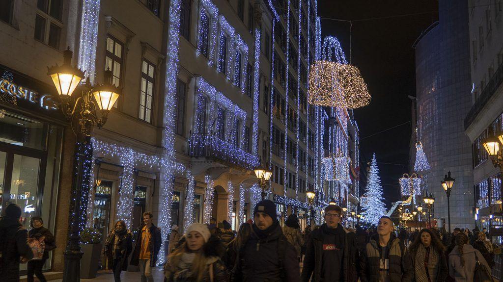 Qué ver en Budapest: Vaci Utca