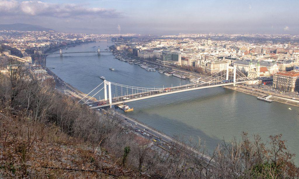 Qué ver en Budapest: Vistas desde la Ciudadela
