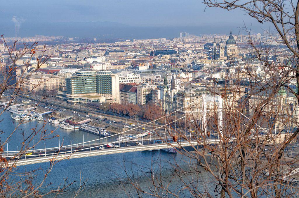 Qué ver en Budapest: Vistas desde la colina Géllert