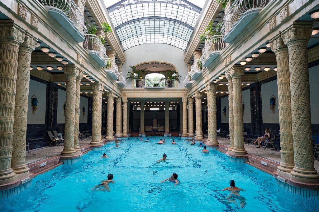 Baños en Budapest: Baños Géllert