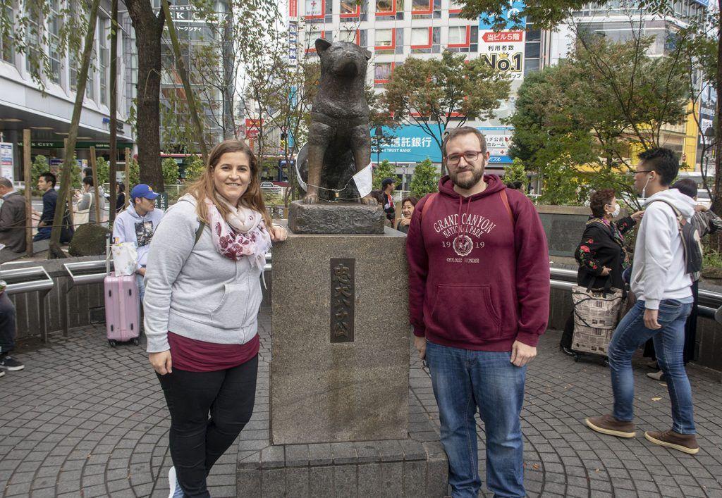 Qué ver y hacer en Shibuya: Estatua de Hachiko