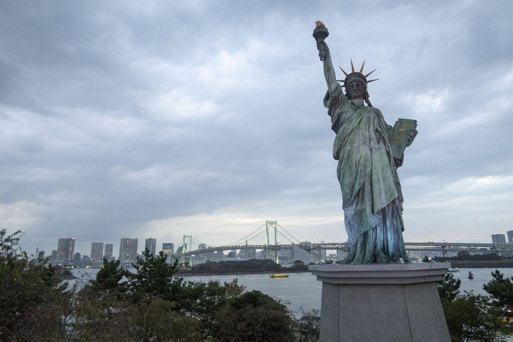 Qué ver y hacer en Odaiba: Estatua de la Libertad - imprescindibles en Tokio