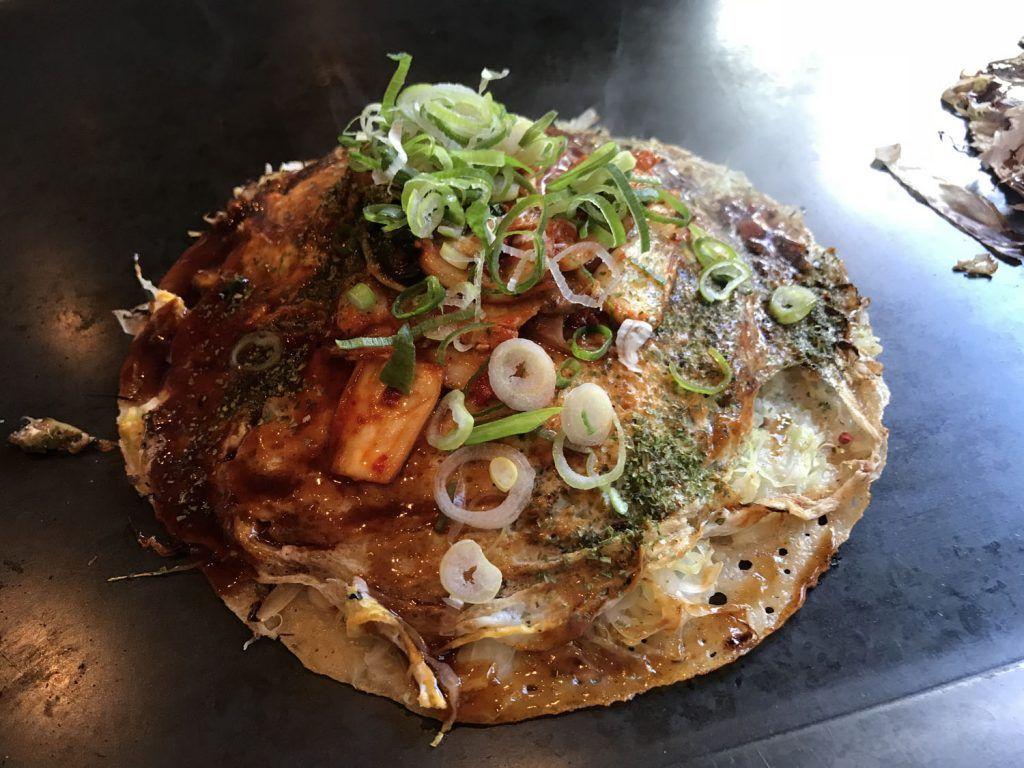 Dónde comer en Tokio: Okonomiyaki - dónde comer en Japón