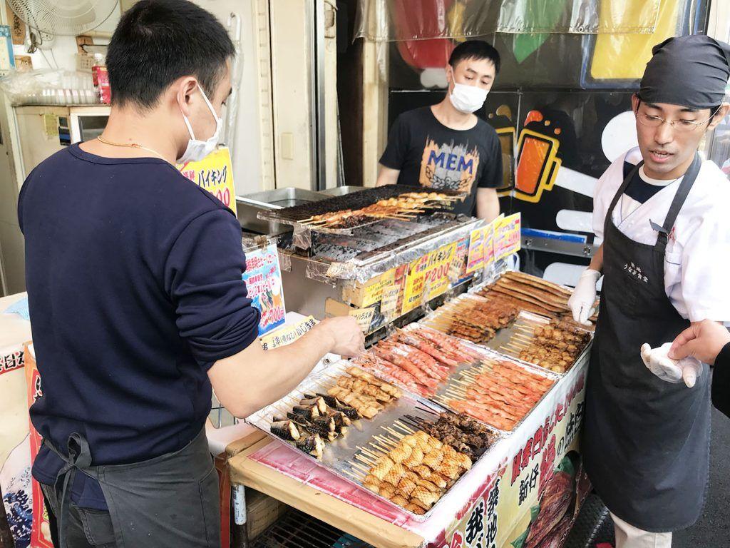Qué ver y hacer en Chuo: pescado y marisco en Tsukiji Fish Market