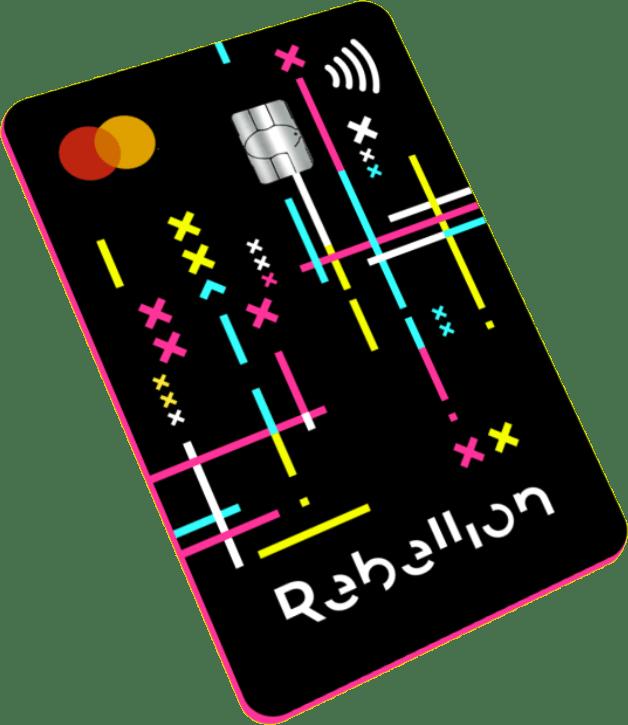 Mejores tarjetas para viajar: Tarjeta Rebellion Pay