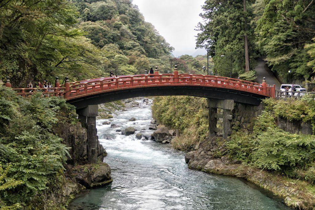 Qué ver en Nikko: Puente Shinkyo