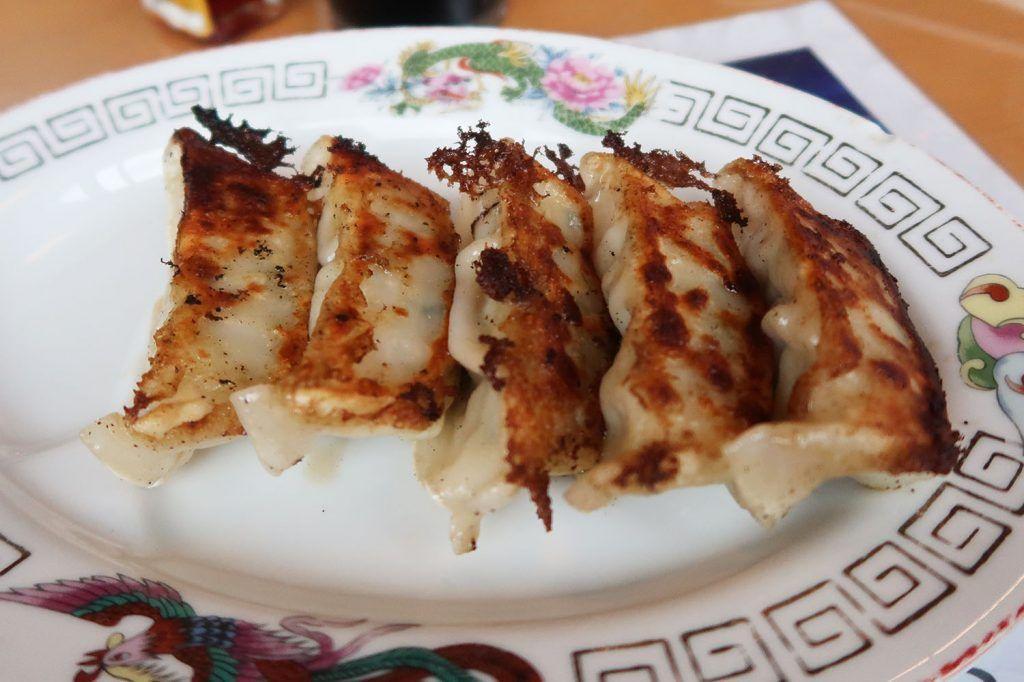 Comida en Nikko: Gyozas - Dónde comer en Nikko - qué comer en Japón