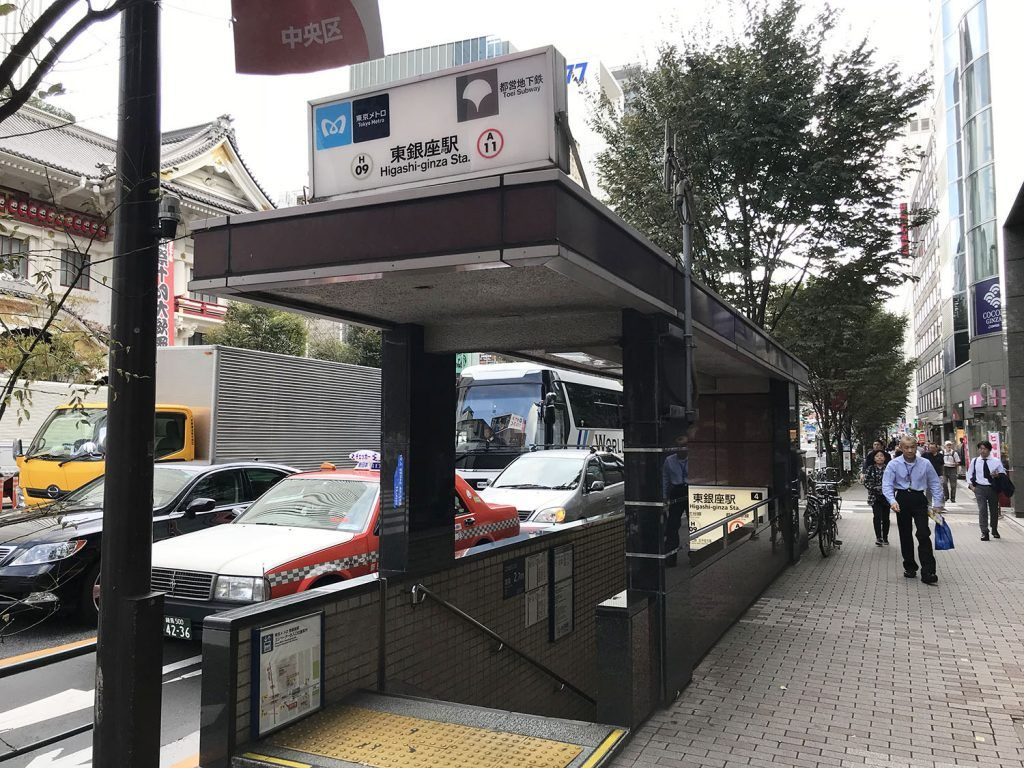Transporte en Tokio: metro