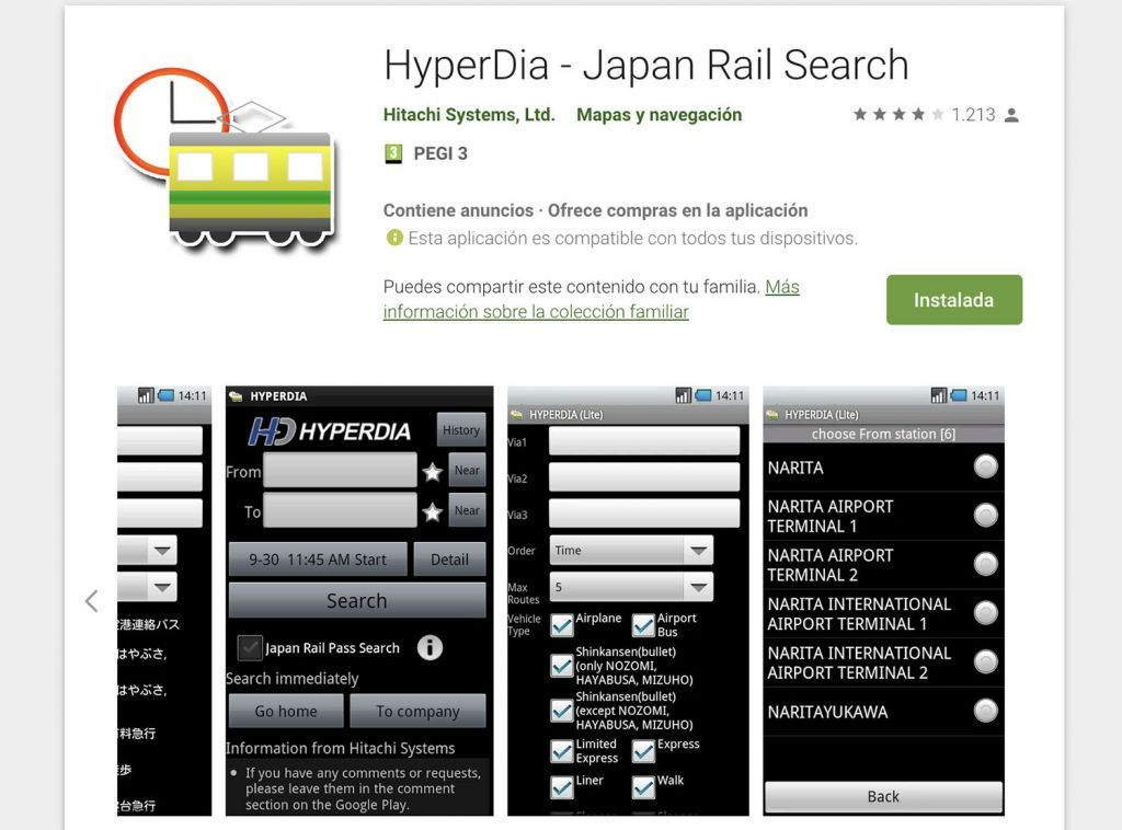 App de Hyperdia