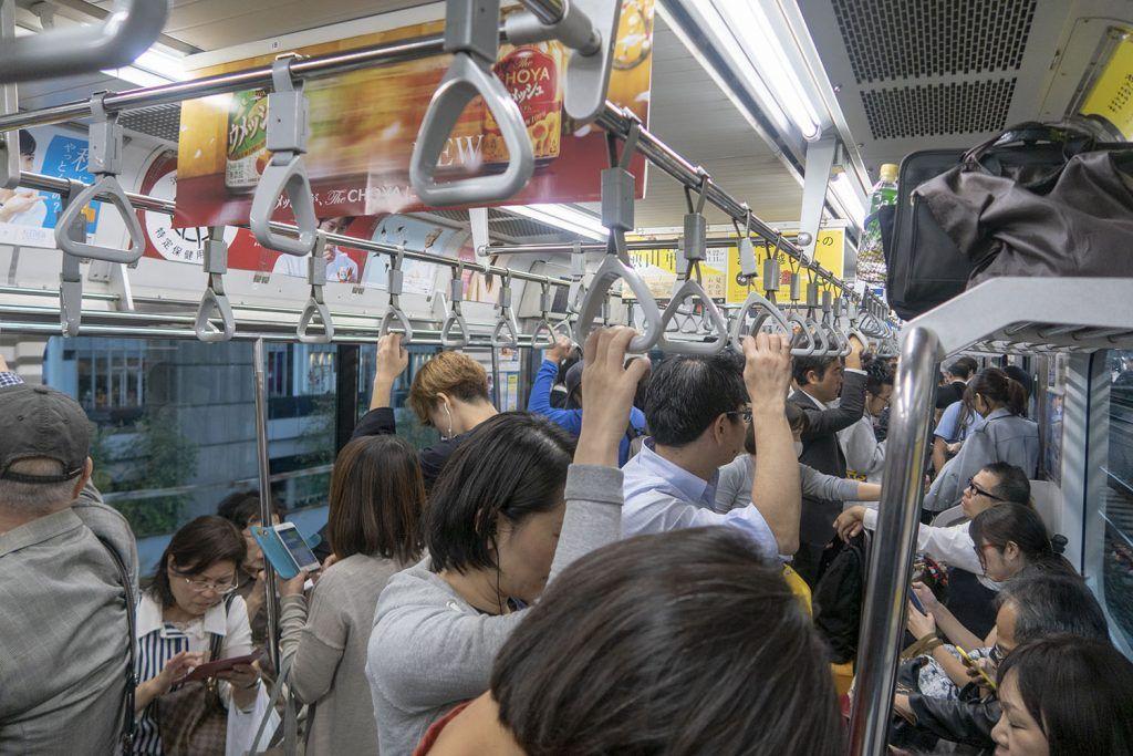 Transporte en Tokio: tren - 15 cosas que nos debes hacer nunca en Japón