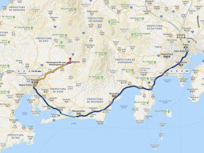 Cómo ir de Tokio a Magome [OPCIONES + PRECIOS + DURACIÓN]