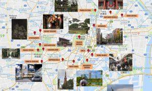 Mapa de Tokio [QUÉ VER + PUNTOS DE INTERÉS]