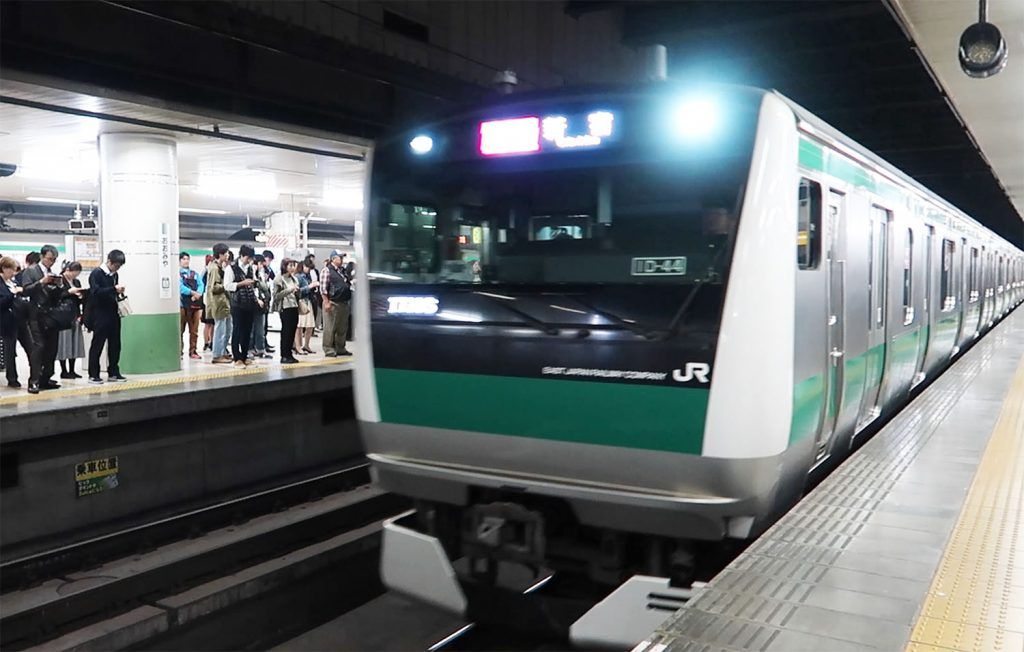 Transporte en Tokio: tren - japan rail pass