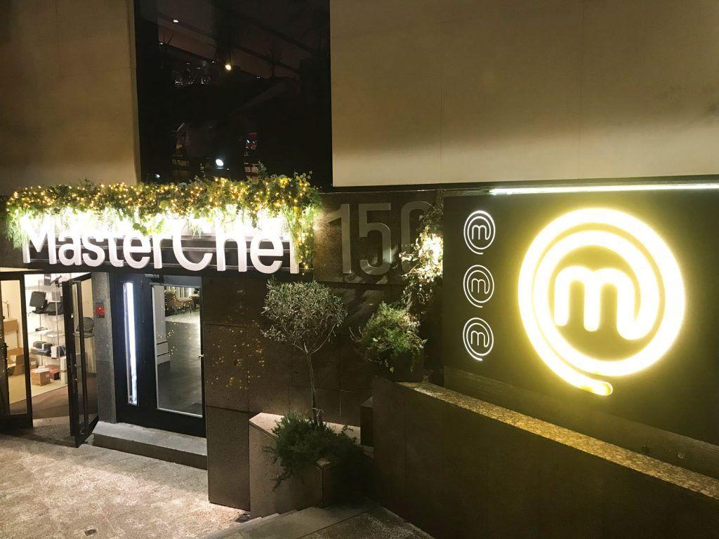Entrada Restaurante MasterChef