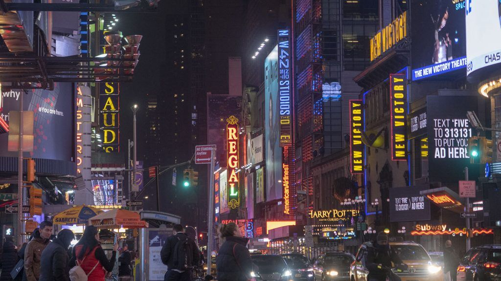 Guía de Nueva York: Broadway