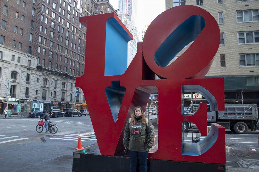 Guía de Nueva York: Escultura de LOVE