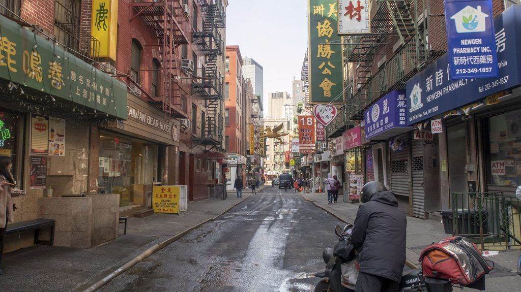 Barrios de Nueva York: Chinatown