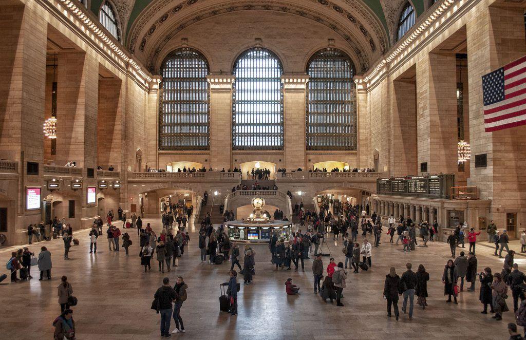 Transporte en Nueva York: tren