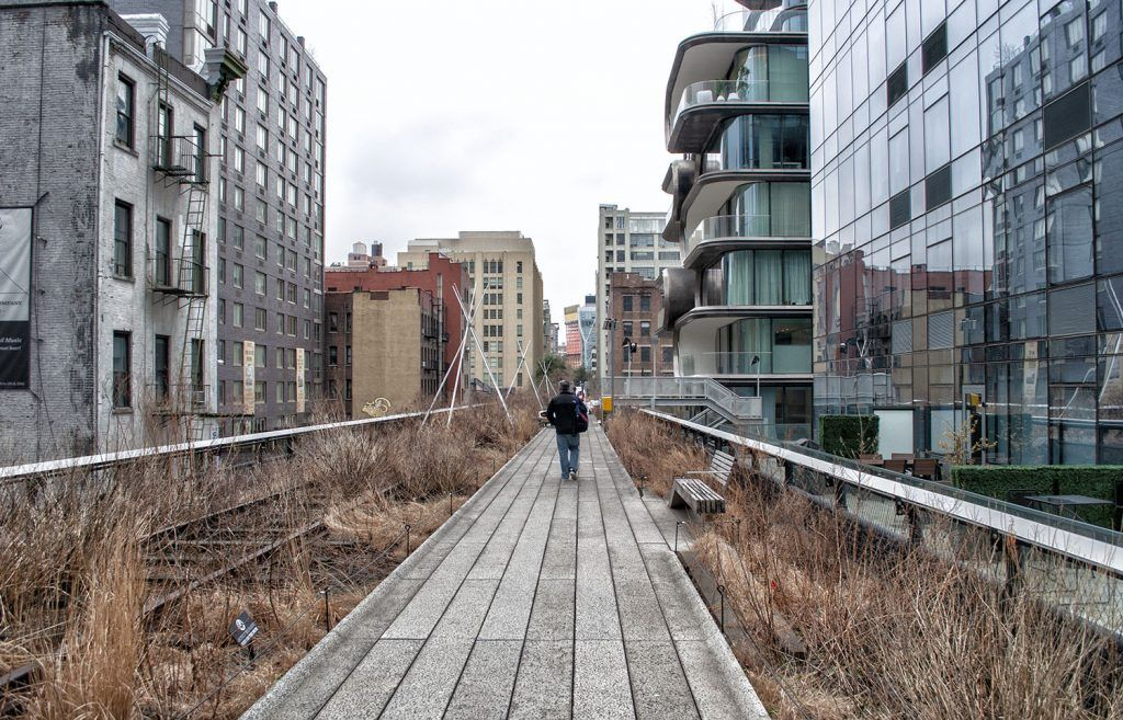 Barrios de Nueva York: High Line