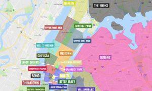 Barrios de Nueva York [MAPAS + QUÉ VER + ITINERARIOS]
