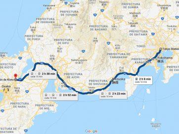 Cómo ir de Tokio a Kioto [OPCIONES + PRECIOS + DURACIÓN]