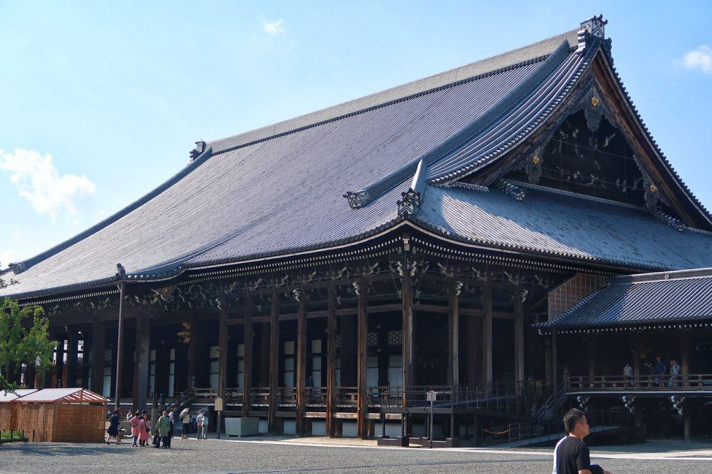 Qué ver en Kioto: templo Nishi Hongan-ji