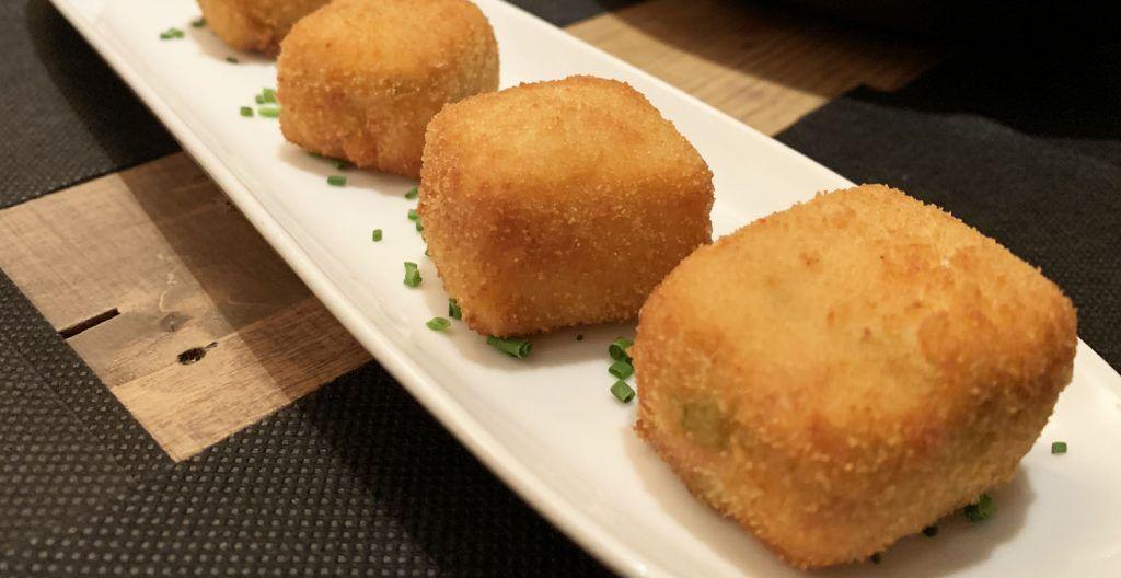 TOGA: Croquetas de pisto y queso manchego