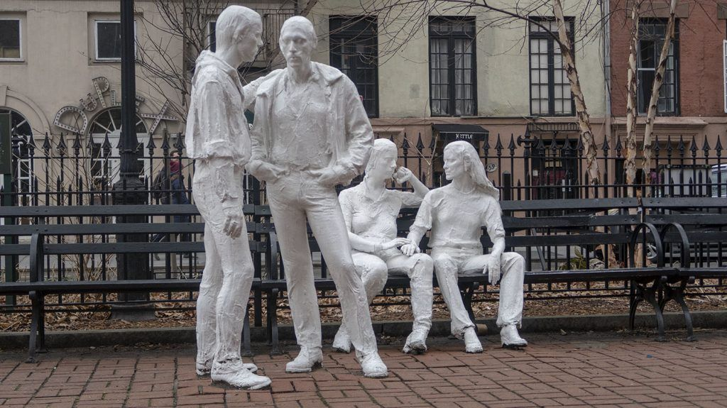 Greenwich Village: Gay Liberation Monument