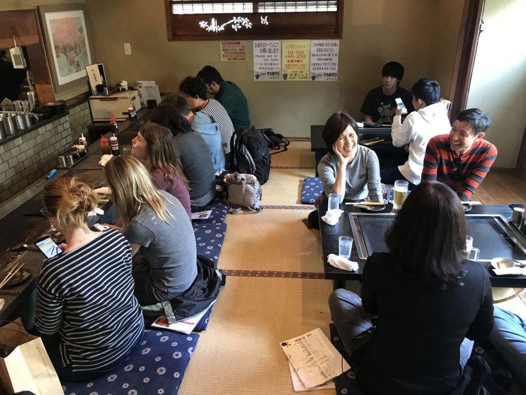 Dónde comer en Kioto: Gion Tanto - dónde comer en Japón