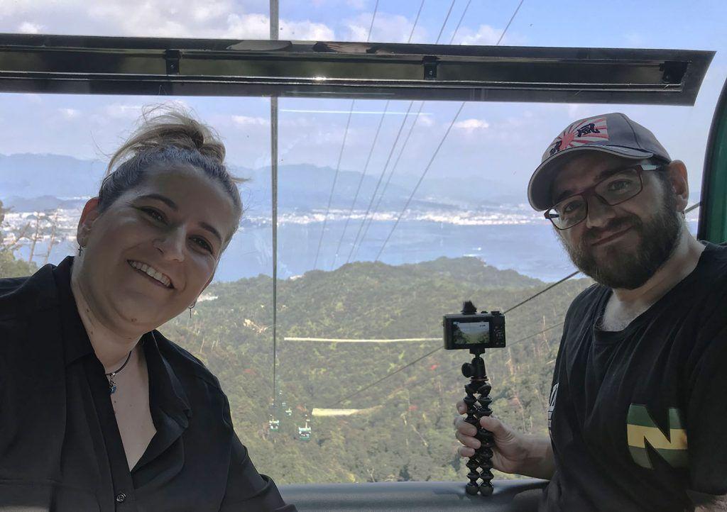 Teleférico en el Monte Misen