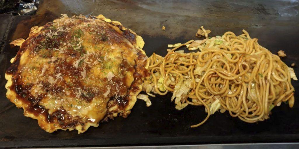 Dónde comer en Kioto: Okonomiyaki Katsu